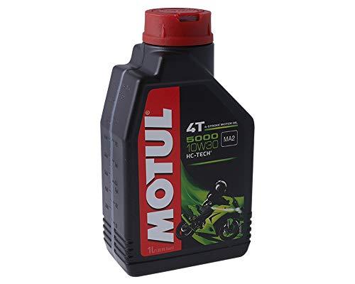 3 X 1 litro Olio Motore Motul 4T 10W30 5000 3 Litri 4 Tempi Olio Olio Olio Scooter Moto
