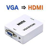 MIFO VGA→HDMI 映像アップコンバーター VGA出力をHDMIに変換 VGA2HDMI(VGA→HDMI)
