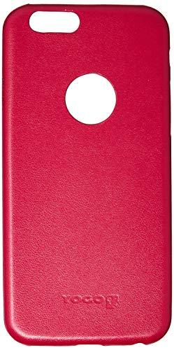 Capa Couro para iPhone 6 e iPhone 6S, Yogo, YGI6ELEGRED, Vermelha