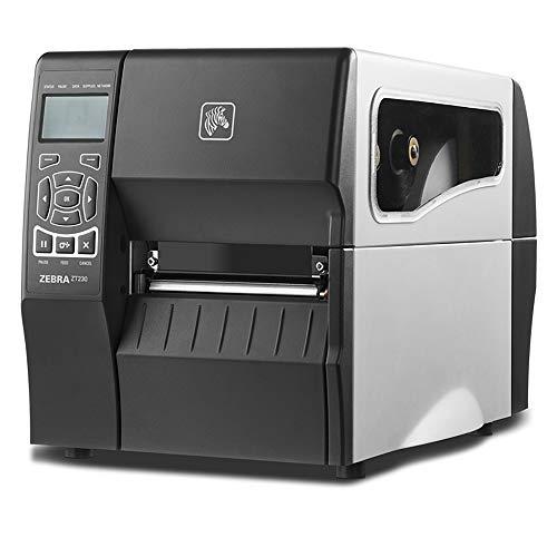 Zebra Zt230–Cd Label-Drucker (LCD, Schwarz, Weiß, 1D, 2D, Code 128(A/B/C), Code 39, Code 93, EAN13, EAN8, Industrial 2/5, Interleaved 2/5, Maxicode, Metall, 20–85%, 5–85%)