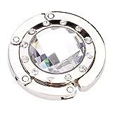 Künstliche Diamant Falten Handtasche Handtasche Haken Aufhänger Halter Schreibtisch Tasche