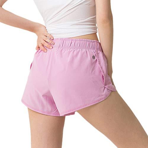 Juqilu Damen Sportshorts Hotpants Sweat-Shorts Fitness Gym Strand Workout Yoga Sexy Kurze Hosen Trainingshose Casual Jogginhose Schlafhose S-XL