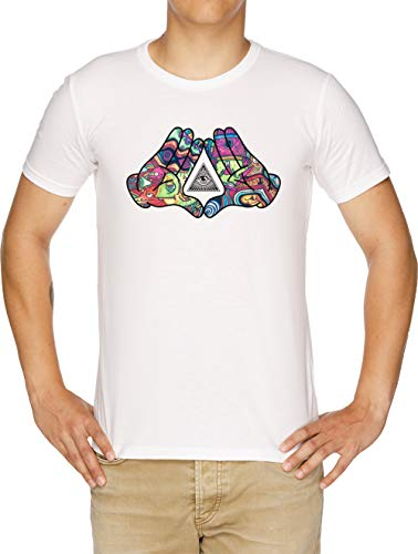 Wellcoda illuminati horror Uomo T-shirt illuminati design grafico stampato T-shirt
