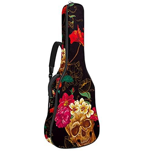 Bolsa suave para guitarra eléctrica con doble correa ajustable para el hombro,...
