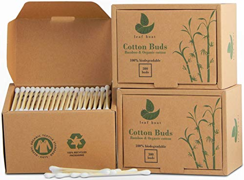 Bamboo Cotton Buds | 3 boxes (90...