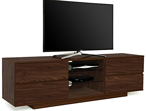 Centurion Supports Avitus Premium Walnut with 4-Walnut Drawers & 3-Shelves 32