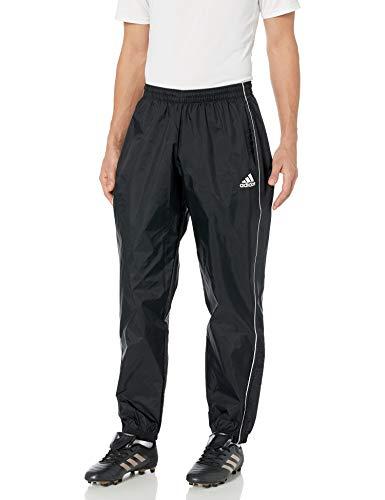 adidas Herren Core 18 Regenhose, Herren, Unterhose, Core 18 Rain Pants, schwarz/weiß, Large