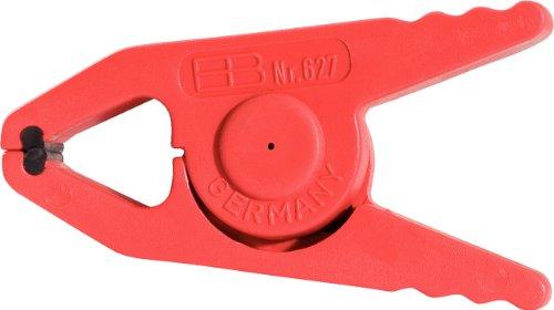 KS Tools 117.1643 Isolierte Kunststoff-Klammer, klein, 80mm