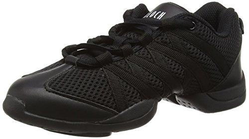 Bloch Criss Cross Damen Sneaker, schwarz, 40 EU (UK 7)