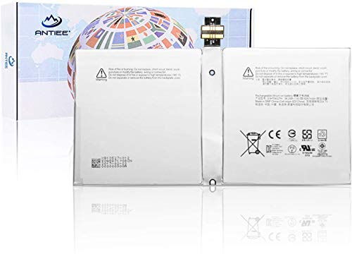 ANTIEE G3HTA027H DYNR01 Batería para Microsoft Surface Pro 4 Pro 4 1724 Series Tablet 7.5V 5087mAh 38.2Wh