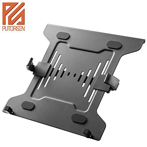 PUTORSEN® Notebook VESA Standard Adpapter für bis 10-15,6 Zoll Laptops, VESA 75 und 100mm kompatibel, Belastbarkeit bis 8 kg