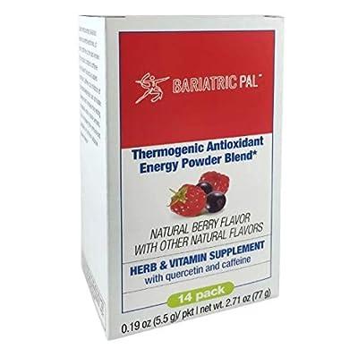 BariatricPal Thermogenic Antioxidant Energy Powder Blend - Berry (3 Packs)
