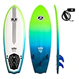 California Board Company Sushi Fish Surfbrett 5 ft 8 ? Rot/Weiß/Blau