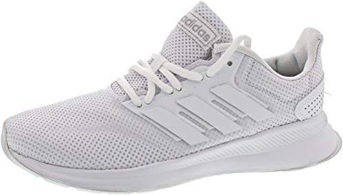 adidas RUNFALCON, Zapatillas de Trail Running para Mujer, Blanco (FTWR White/FTWR White/Core Black), 40 EU
