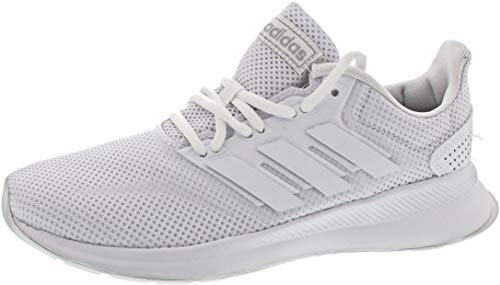 adidas Womens RUNFALCON Road Running Shoe, Cloud White/Cloud White/Core Black, 36 EU