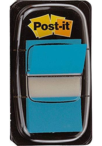 Post-it I680-23 Index 1 Spender mit 50 Haftstreifen (25,4 x 43,2 mm) türkis