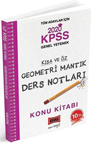 2020 KPSS Geometri Mantık Kısa ve Öz Ders Notları