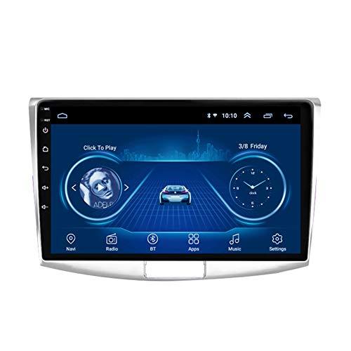 LHMYHHH El Reproductor Multimedia para Automóvil Es Adecuado para Volkswagen Magotan Passat B7 2010-2015 Android Car con Navegación GPS Bluetooth Navegación Táctil Completa Integrada 1G + 16G