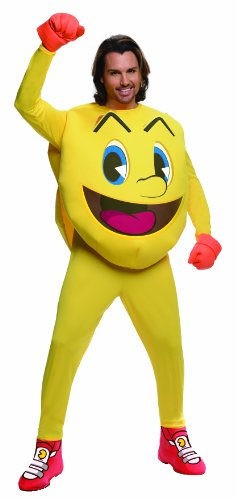 Rubie's Deluxe Pac-man Adult Jumpsuit, Large or Standard