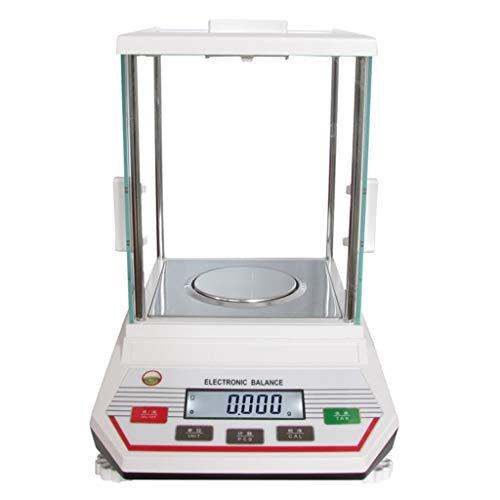 WCX laboratoriumweegschaal 500 g/0,001 g hoge precisie digitale sieradenweegschaal LCD elektronische weegschaal voor de apotheek school goud