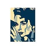 Gigoo Elizabeth Taylor Poster Leinwandmalerei Drucken
