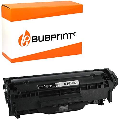 Bubprint Cartuccia Toner compatibile per HP Q2612X 12X per LaserJet 1010 1012 1015 1018 1020 1022 1022N 1022NW 3015 3020 3030 3050 3052 3055 M1005 M1319F MFP Nero