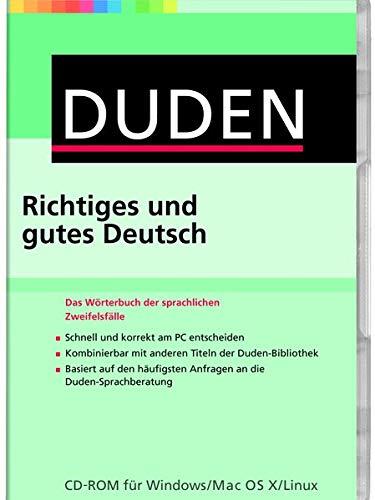 Preisvergleich Produktbild DUDEN Richtiges und gutes Deutsch