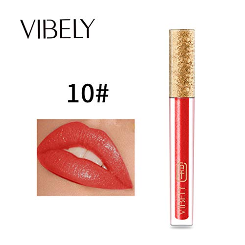 Momoxi VIBELY Mirror Sexy Liquid Lip Gloss langlebig wasserdicht 24 Stunden halten