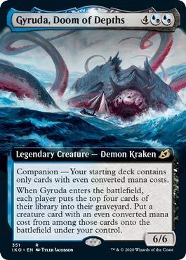 Magic: The Gathering - Gyruda, Doom of Depths - Extended Art - Ikoria: Lair of Behemoths