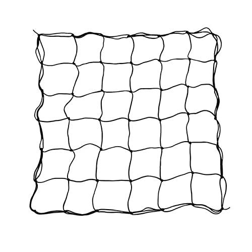 ZCXIONG 80 * 80 cm Caucho elástico Tienda de campaña Jardín Trellis Vine Soporte Plantas Netificación para Suministros de jardín de Escalada en Red Vegetal (Color : Black)