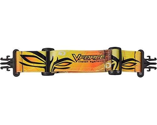 VForce Grill Goggle Strap - Orange/Yellow