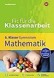 Fit für die Klassenarbeit - Gymnasium: Mathematik 5: Klassenarbeitstrainer (Fit für die Klassenarbeit: Klassenarbeitstrainer Gymnasium)