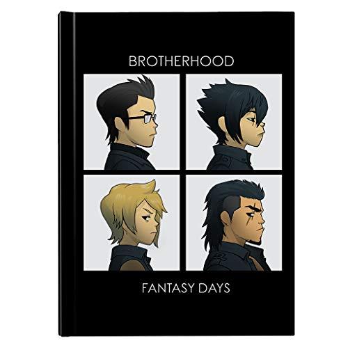 Final Fantasy Brotherhood Days Hardback Journal