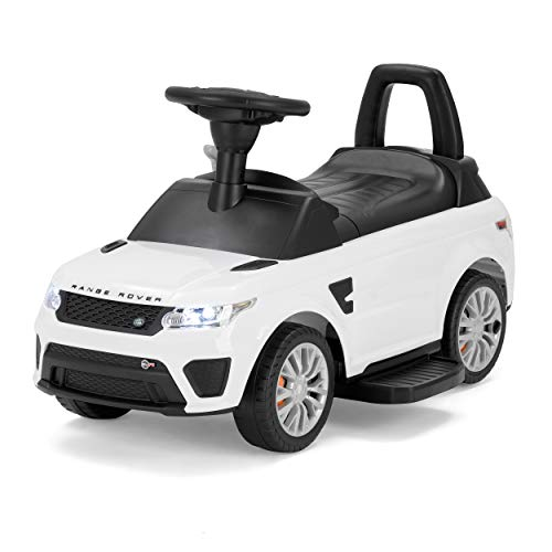 Xootz, Range Rover Official Licensed 2-in-1 Electric Ride-On for Kids with Headlights and Sound Effects