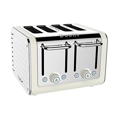 Dualit 46523 Architekt 4-Scheiben Toaster in Leinwand Weiß