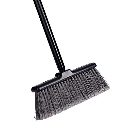 Fuller Brush Kitchen Broom - Heavy Duty Floor Sweeper with Steel Handle & Fine Long Bristles - Dust Sweeping for Home/Commercial Kitchen & Warehouse Floors – Made in USA