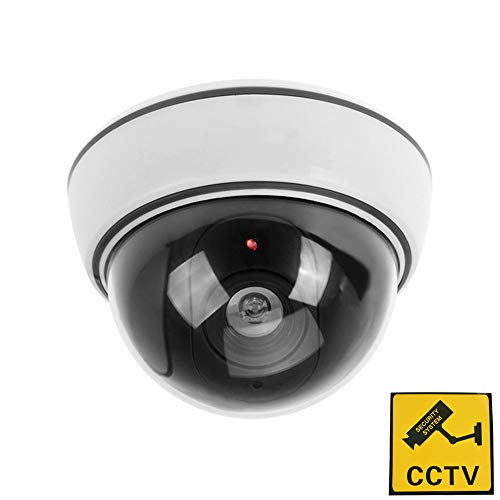 Phot-R® Dummy IR LED Dome Surveillance Security Camera Cam with CCTV Warning ...