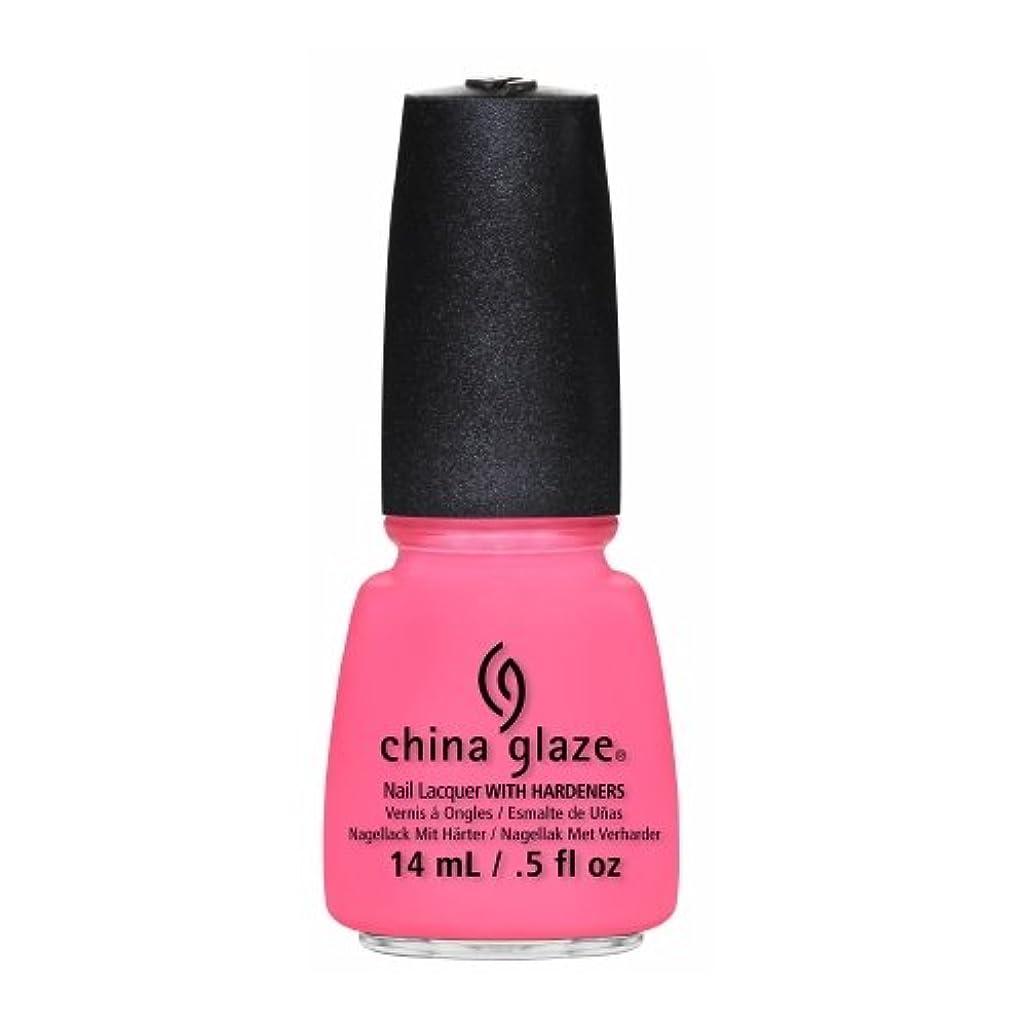 捧げる今日リビングルームCHINA GLAZE Nail Lacquer - Sunsational - Neon On & On (並行輸入品)