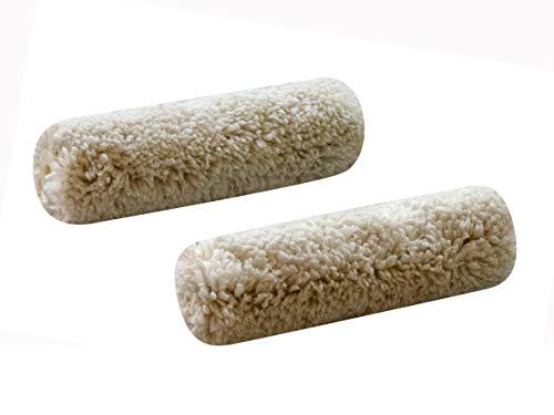 Premium Lasur-Walze aus Microfaser 100 mm, 2er-Set
