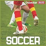 Soccer Calendar 2022: Official Sports Calendar 2022, 18 Month Photo of Soccer calendar 2022, Mini Calendar