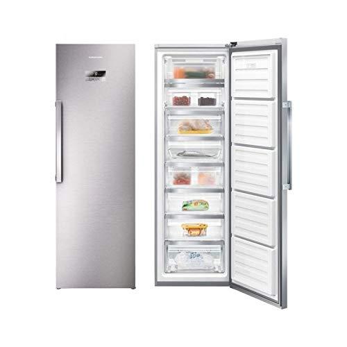 Grundig GFN 13820 X Stand-Gefrierschrank/No Frost/Schnellgefrieren-Funktion/Antibakterielle Türdichtungen /312 l Bruttoinhalt/Energieklasse A++