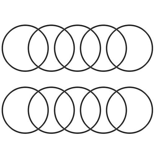 sourcing map 10stk. O-Ringe Nitrilkautschuk Gummidichtung Dichtungsringe Ringe 59mmx63mmx2mm DE de