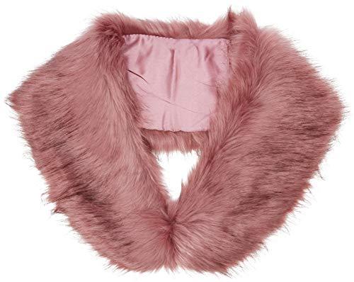New Look Faux Fur Giubbotto, Marrone (Rust), 42 (Taglia Produttore: 10) Donna