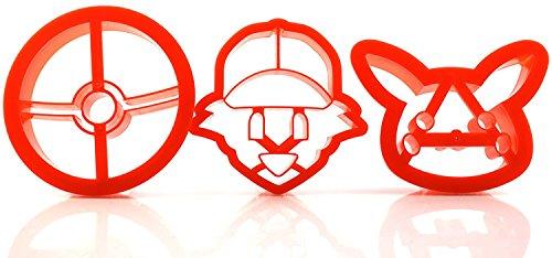 Pokémon Plastic Cookie Cutters