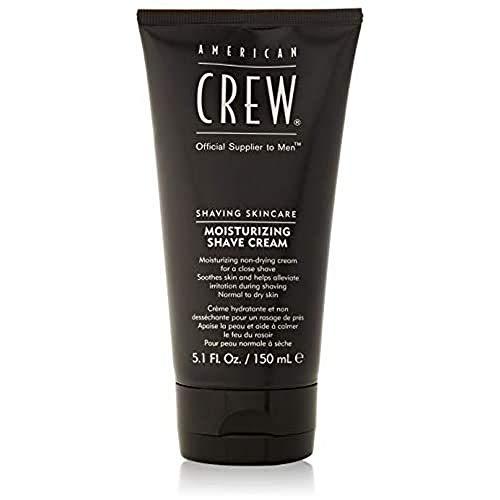 AMERICAN CREW Moisturizing Shave Cream, 5.1 Fl Oz