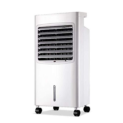 QTCD Unidad de Aire Acondicionado portátil Fans 4 en 1 con refrigeración, 3 velocidades, calefacción, deshumidificación, Aire Acondicionado portátil con Control Remoto