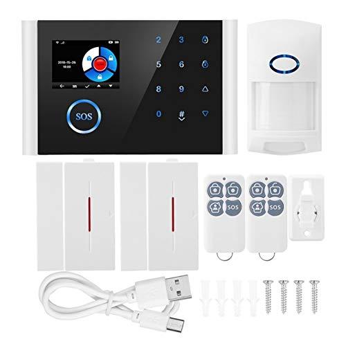 Sistema de Alarma antirrobo casero gsm, para el hogar, para la Oficina