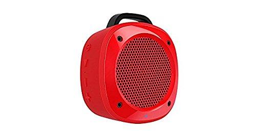 Divoom Air Beat 10 Tragbarer Lautsprecher (3,5 Zoll, Bluetooth 3.0, Mikrofon, Freisprecheinrichtung), Rot