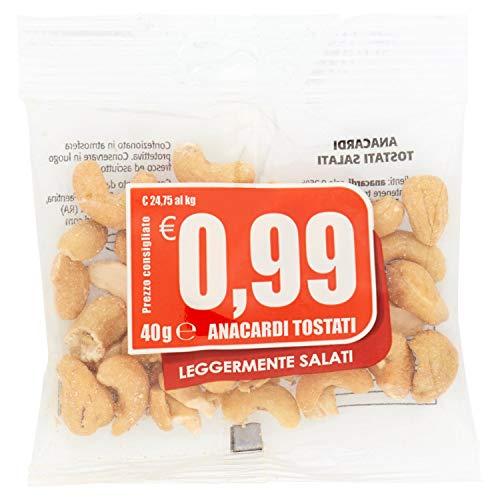 Euro Company - Anacardi, Tostati e Salati - 40 g