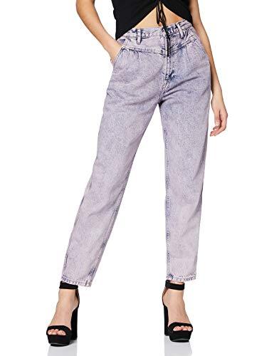 Pepe Jeans Summer Vaqueros evasé, Azul (Denim 000), W35/L28 (Talla del Fabricante: 25) para Mujer